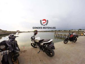 Gondes Motovlog Riding Sore Yamaha New Vixion