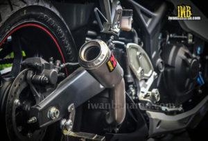 Suara Knalpot Yamaha YZF R25 Akrapovic GP M1 Carbon Terbaru Keren